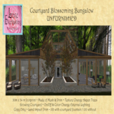 LE ~ Courtyard Bungalow UNFurnished Boxed