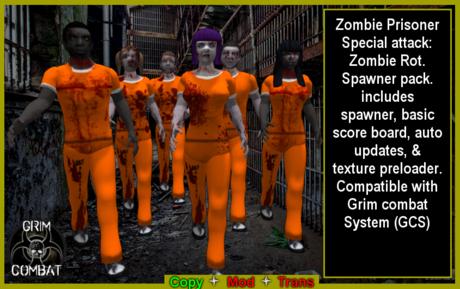 GCS Zombie Prisoner Spawner pack