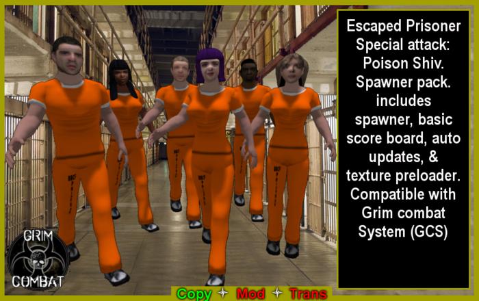 GCS Escaoed Prisoner Spawner pack