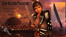 [Envision] Saw Blade/Dagger