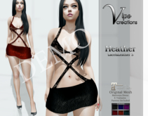 [Vips Creations] - DEMO - Original Mesh Dress - MT[Heather3]-Maitreya