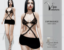 [Vips Creations] - Original Mesh Dress -PROMO - [Heather2]-Maitreya