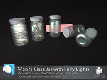 [Prim 3D] - Glass Jar with Fairy lights