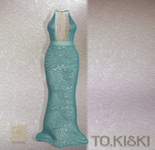 TO.KISKI - Attraction Gown - Aqua (Add)