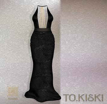 TO.KISKI - Attraction Gown - Black (Add)