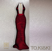 TO.KISKI - Attraction Gown - Red (Add)