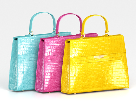 Salvadori - Classic 'Croc' Mini Handbag