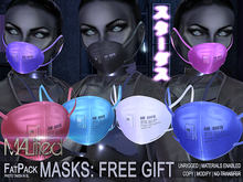 FREE GIFT - MALified: Masks Unrigged - COPY MOD FATPACK
