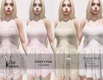 [Vips Creations] - Original Mesh Dress - [Beatriz-Satins-Full]-Maitreya