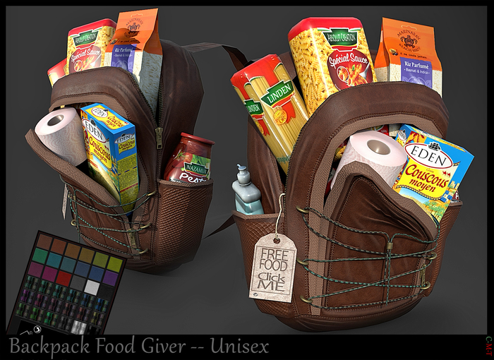 *.* BackPack Food Giver