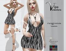 [Vips Creations] - DEMO - Original Mesh Dress - [Angelina4-Glitter]-Maitreya