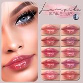 Lempika - 10 Lipsticks Gloss GENUS