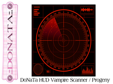 DoNaTa HUD Vampire Scanner / Progeny