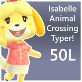 Isabelle Animal Crossing Typer