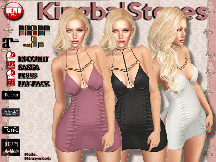 420 KS OUTFIT SASHA DRESS FAT-PACK