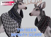 Snode - TWI Deer Infinity Scarf