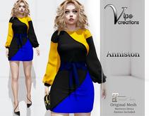 [Vips Creations] - Original Mesh Dress  - [Anniston] - Maitreya Dress