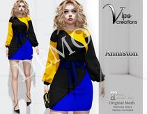 [Vips Creations] - DEMO - Original Mesh Dress - [Anniston]