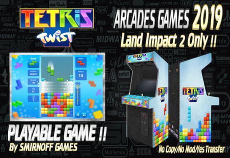= Tetris Twist = Arcades Games 2019 [BOX]