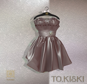 TO.KISKI - Lady Cocktel Dress / Nude Box (add me)