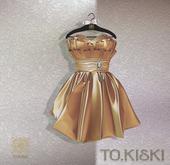 TO.KISKI - Lady Cocktel Dress / Gold Box (add me)