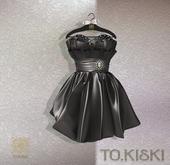 TO.KISKI - Lady Cocktel Dress / Black Box (add me)