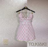 TO.KISKI - Siren Mini Dress / Heart (add me)