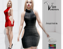 [Vips Creations] - Original Mesh Dress - [Aurora]HUD - Maitreya