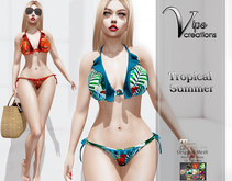 [Vips Creations] - Original Mesh Bikini - [Tropical Summer]-MT