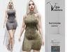 [Vips Creations] - Original Mesh Dress - [Kendia 2-Silver]HUD-Maitreya