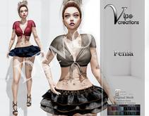 [Vips Creations] - DEMO - Original Mesh Dress-[Fenia]-Maitreya