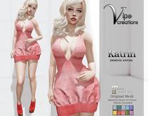 [Vips Creations] - Original Mesh Dress  - [Katrin-Patterns]Hud-Maitreya