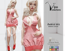 [Vips Creations] - DEMO - Original Mesh Dress-[Katrin-Patterns]