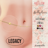 Belly Chain for Meshbody Legacy ♥ Rigged Mesh Body Jewelry ♥  Bento