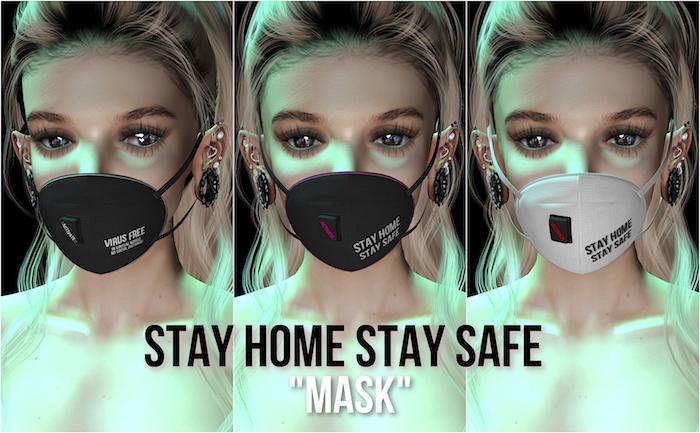 :KOYUKI: 1L Mask - Stay home Stay safe
