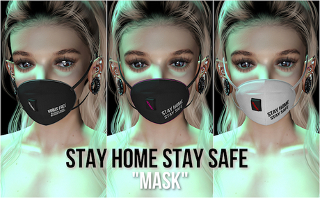 :KOYUKI: 1L Mask - Stay home Stay safe