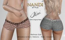 [NS ] - Bag Demo Shorts Mimi -