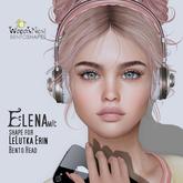 { wren's nest } Elena Shape for LeLutka Erin v2.0 Bento head
