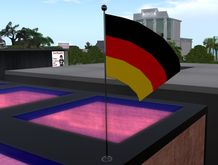 Flag, Flagge, Fahne, Drapeau (Germany, Deutschland) BOX