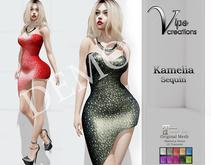 [Vips Creations] - DEMO - Original Mesh Dress - MT[Kamelia Sequin]-Maitreya