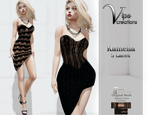 [Vips Creations] - Original Mesh Dress  - KAMELIA [5 Style Laces]MAITR