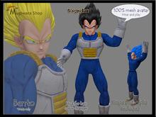 Avatar mesh Vegeta Dragon Ball Super (Bento)