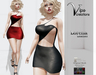 [Vips Creations] - Original Mesh Dress - [Leonora-Leather]HUD-Maitreya