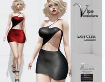 [Vips Creations] - Original Mesh Dress - [Leonora-Leather]HUD-Maitreya