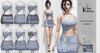 [Vips Creations] - Original Mesh Dress - [Leonora-Jeans]HUD-Maitreya