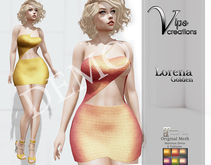 [Vips Creations] - DEMO - Female Outfit - MT[Leonora Golden]
