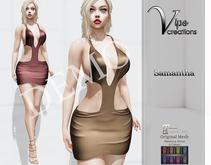 [Vips Creations] - DEMO - Original Mesh Dress - [Samantha B]-Maitreya