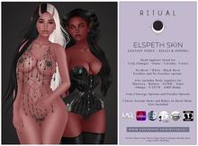 [ RITUAL ] Elspeth Skin - Fantasy Tone Duo - Kisali & Sinisha
