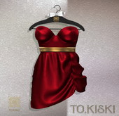 TO.KISKI - Sahara dress - Red (Add)