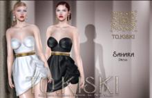 TO.KISKI - Sahara dress - Gold (Add)